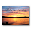 Soothing Sunset Sympathy Card